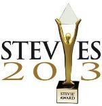 The Stevie Awards 2013 Logo