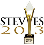 Stevie Awards 2013 Logo