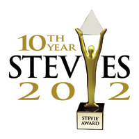 Stevies 2012 Logo