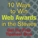 Stevie Web Awards Tipsheet