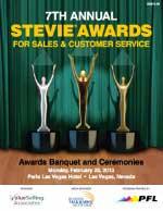 2013 Stevie® Awards for Sales & Customer Service Program