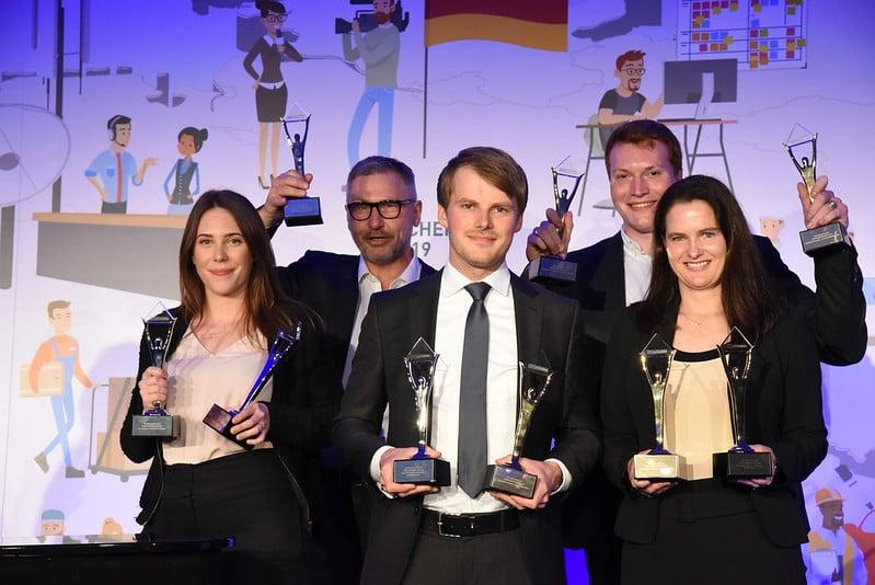 CROWDCONSULTANTS 360 sind mehrfacher Preisträger im HR-Bereich der German Stevie Awards 2020