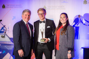 Daimler AG ist Preisträger der Stevie Awards for Great Employers 2018