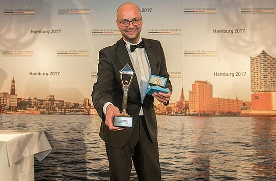 Blacklane gewinnt bei den Management Awards der German Stevie Awards 2017
