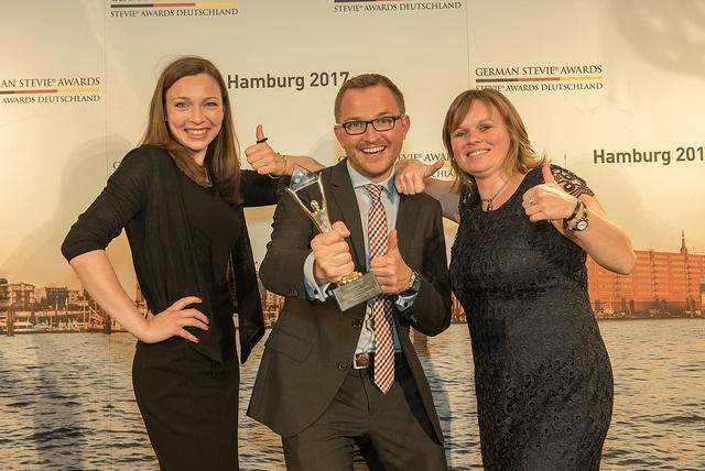 Fraport AG und Klenk & Hoursch gewinnen bei den 3. German Stevie Awards