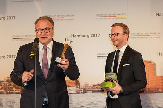 Imperial Logistics gewinnt Gold in den Website Kategorien der German Stevie Awards 2017