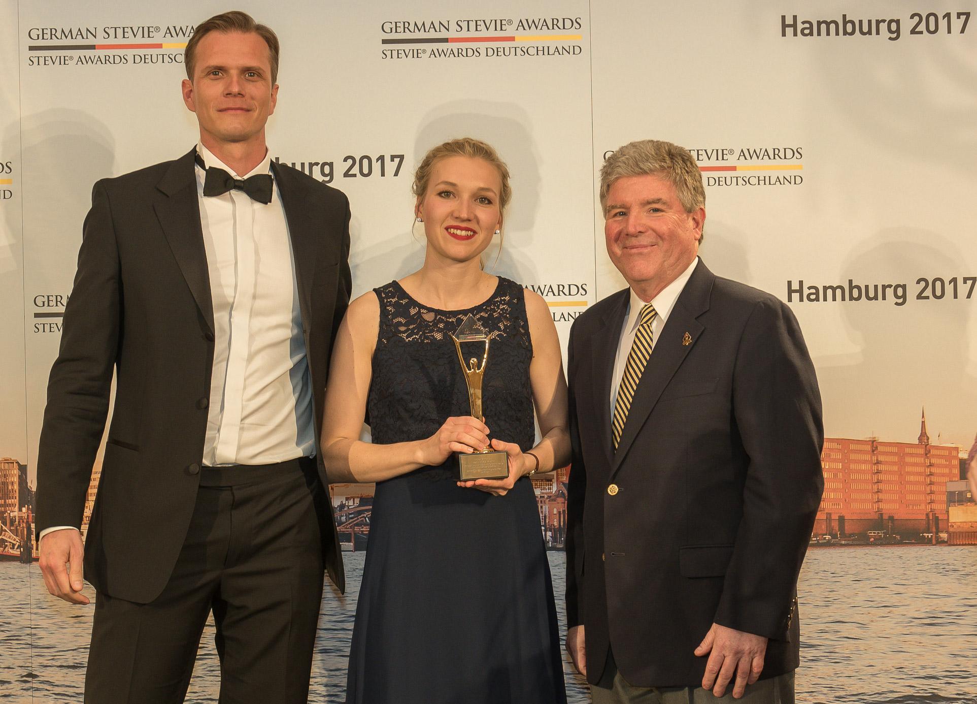 Fauth, Gundlach & Hübl gewinnen bei den 3. German Stevie Awards