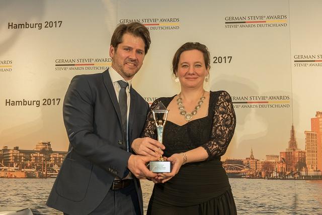 Inventorum gewinnt Gold bei den German Stevie Awards 2017