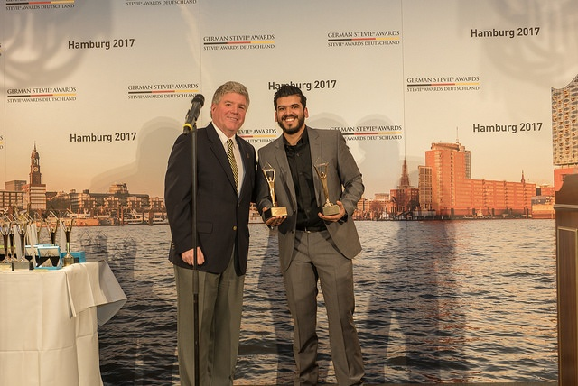 Optivo gewinnt Gold bei den German Stevie Awards 2017 in den Live-Event Kategorien