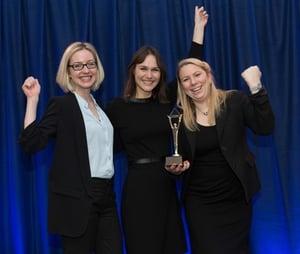 Jetzt wird gefeiert - Die Preisverleihung der German Stevie Awards 2018