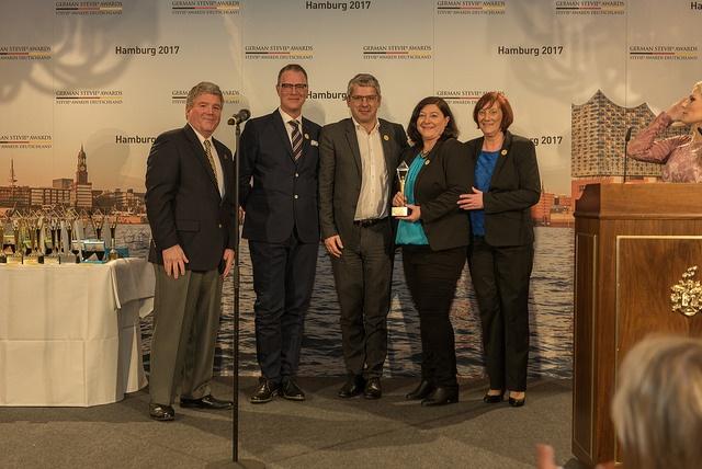 DHL-Express gewinnt bei den 3. German Stevie Awards