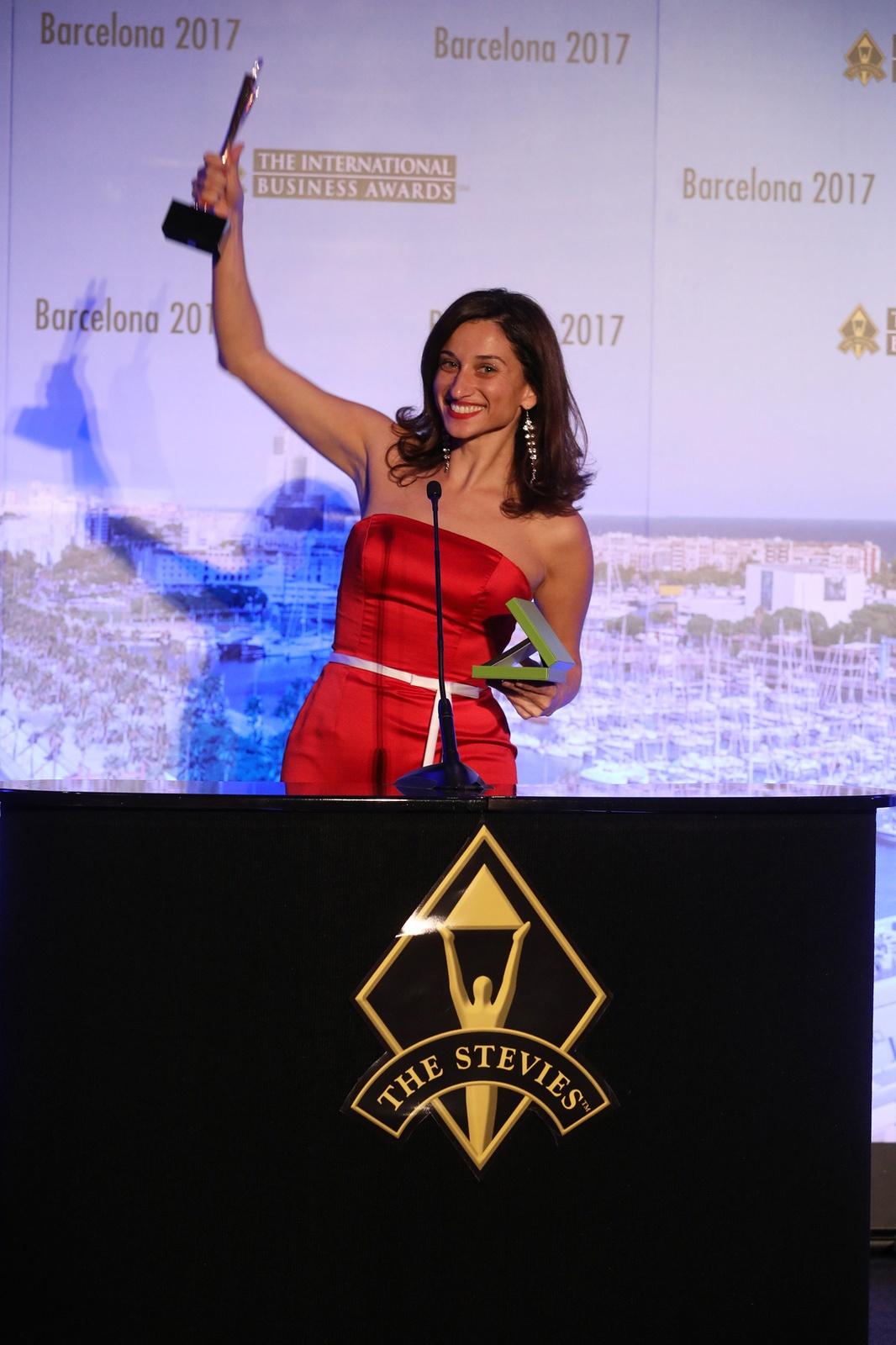 IBA winner woman 2017