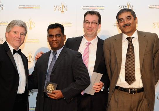 Rheinbrücke IT Consulting GmbH - Silber und Bronze Gewinner der German Stevie Awards 2015