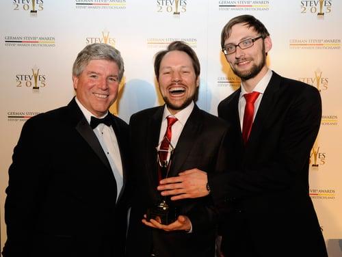uberMetrics gewinnt bei den 1. German Stevie Awards 2015