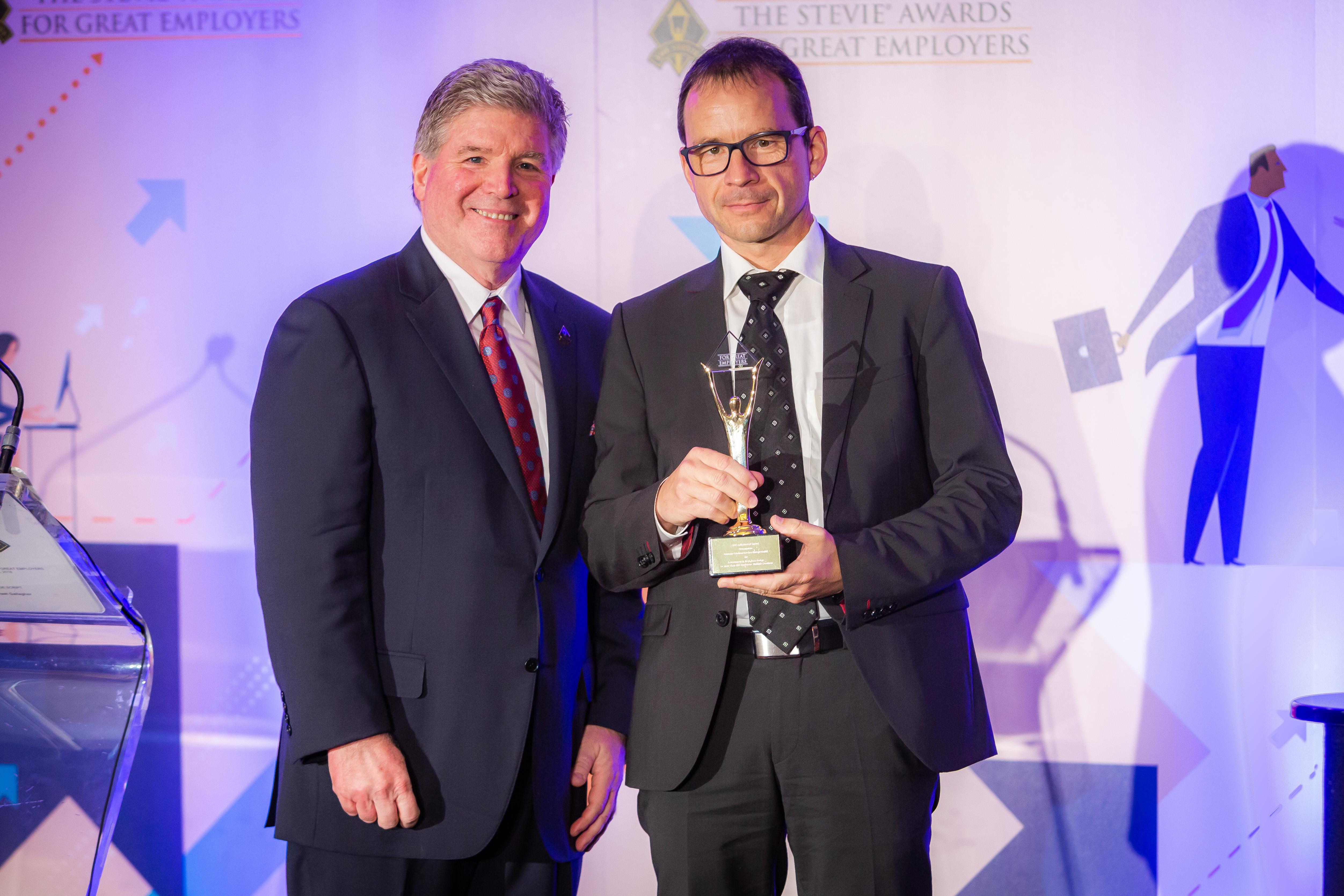 Deutsche Telekom Services Europe: Preisträger der Stevie Awards of Great Employers