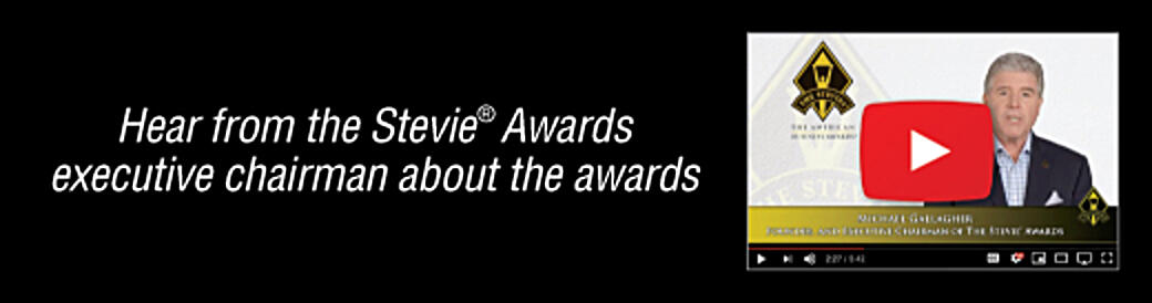 Hear from the Stevie Awards president about the awards