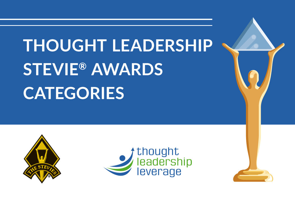 Stevie Awards Partners to Create Thought Leadership Categories