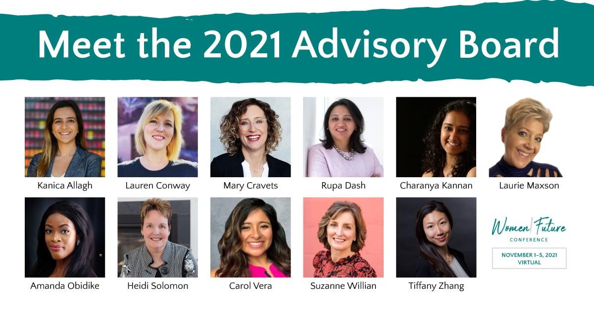 The Women|Future Conference Announces 2021 Advisory Board Members