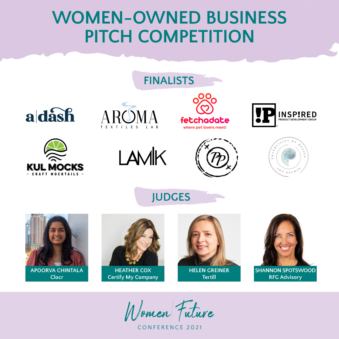 Eight Women-Owned Businesses to Compete for Funding in Pitch Competition